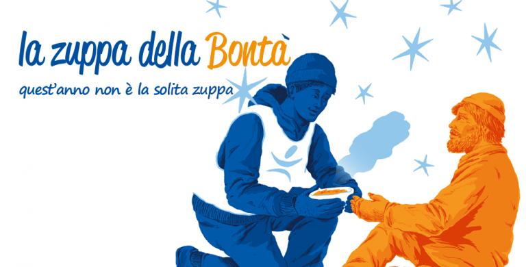 La zuppa della Bontà è on line, dona un pasto!