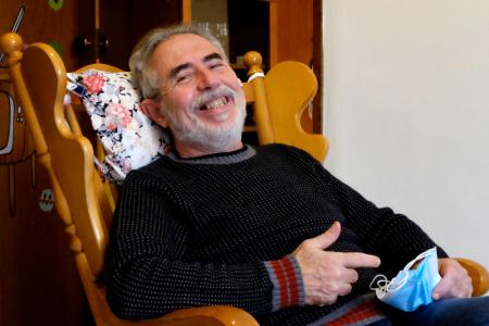 Gara di solidarietà per Giuliano. 66 anni, viveva in auto, ora ha una casa