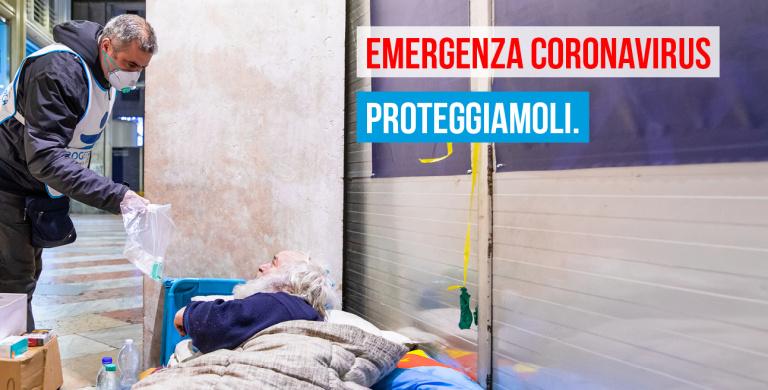Emergenza Coronavirus, #Proteggiamoli