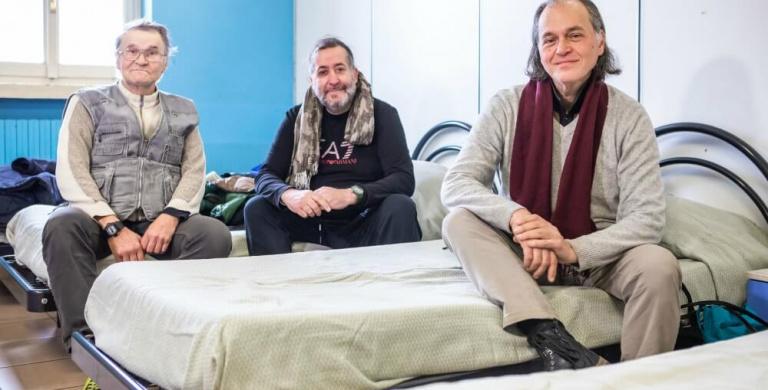 Dalla strada alla vita in comunità: una casa per 25 persone senza dimora