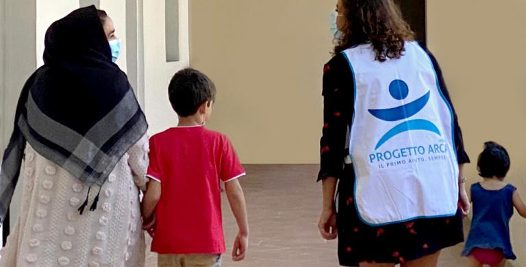 Con Fondazione Veronesi per accogliere le prime famiglie afgane a Milano