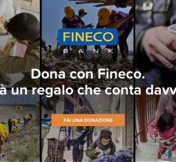 FinecoBank e Progetto Arca, un Natale insieme per donare solidarietà