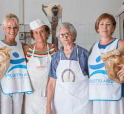 Forno Moretti, quando la solidarietà profuma di pane