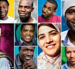 A Lampedusa i migranti diventano stelle di una mostra sottomarina